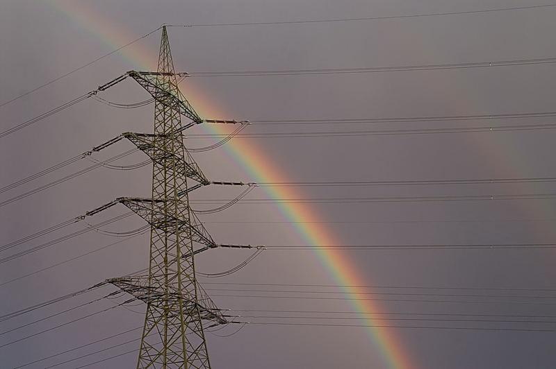 Regenbogenstrom