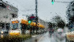 Regenfahrt