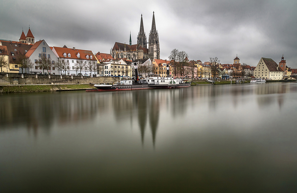 Regensburg [1] Donau - Dom