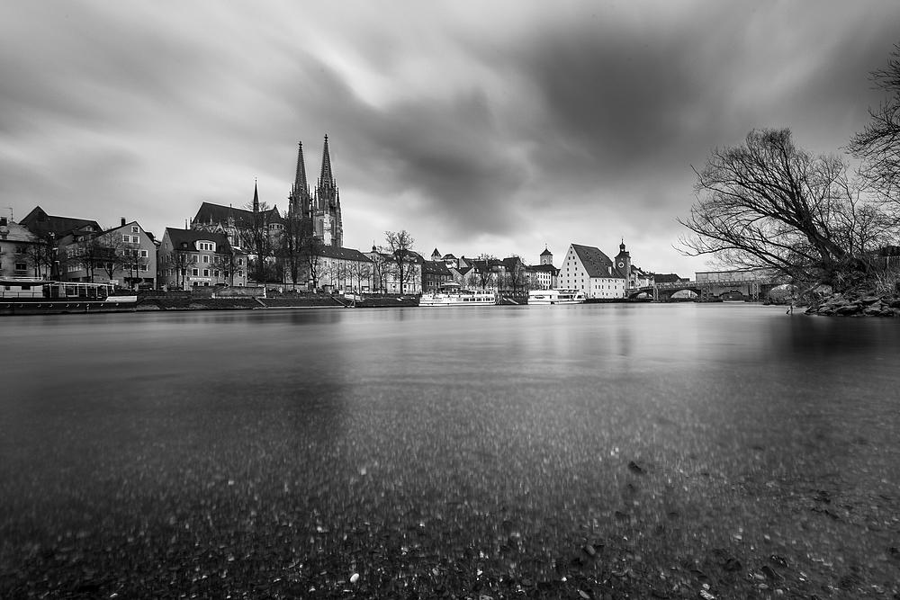 Regensburg [3] - Am Ufer