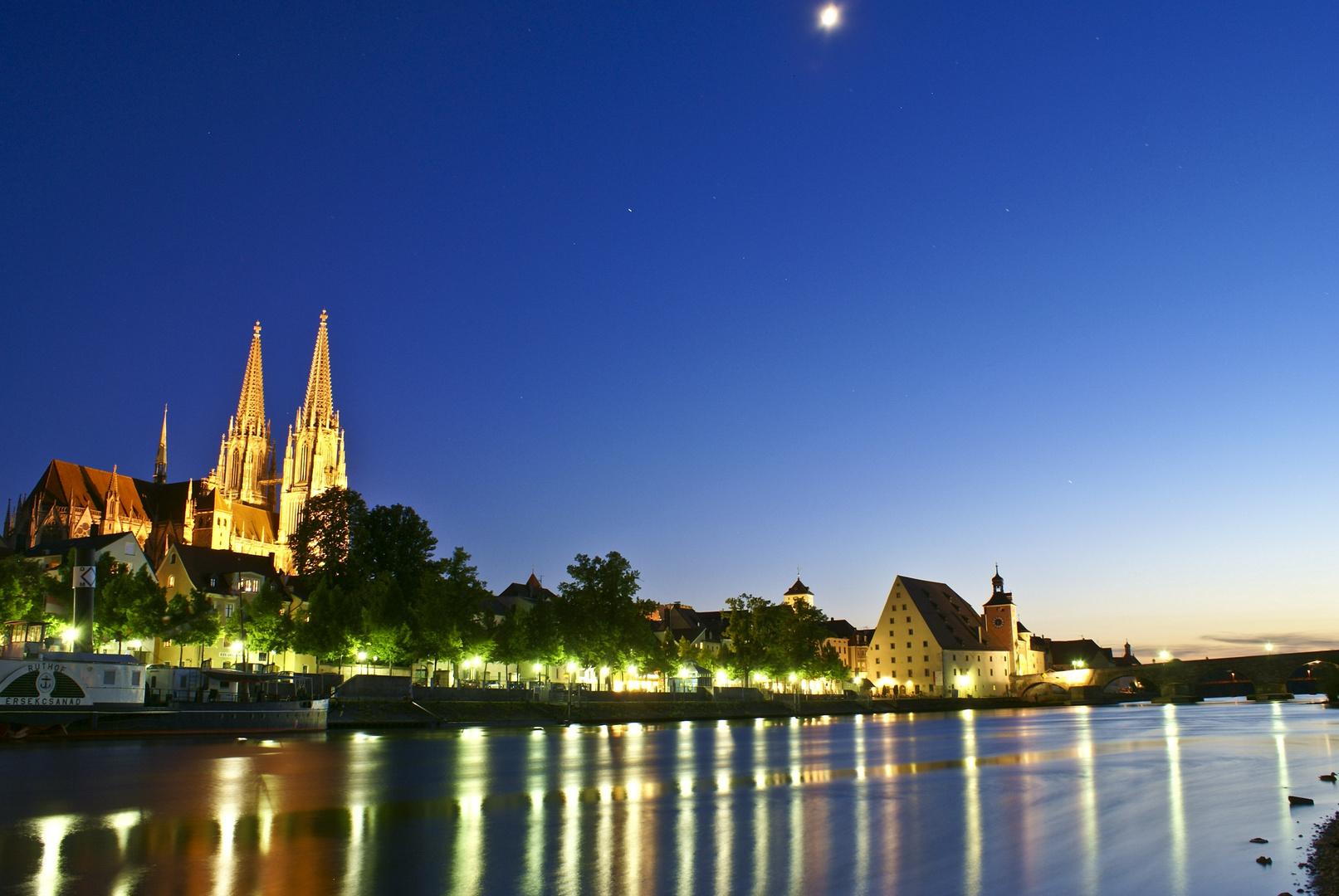 Regensburg am Abend