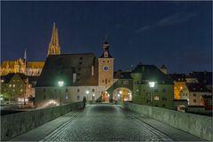 Regensburg die steinerne Brücke