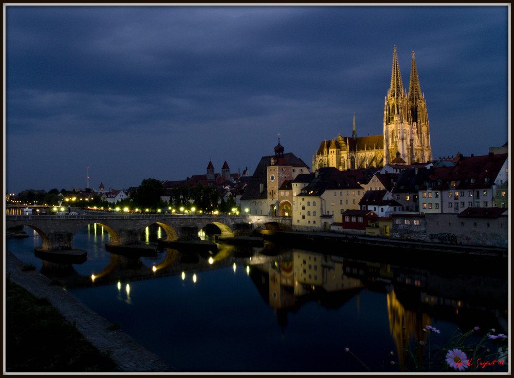 Regensburg wie man es oft sieht