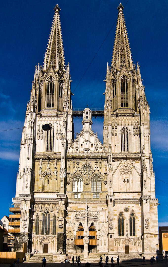 Dom Regensburg Beleuchtet