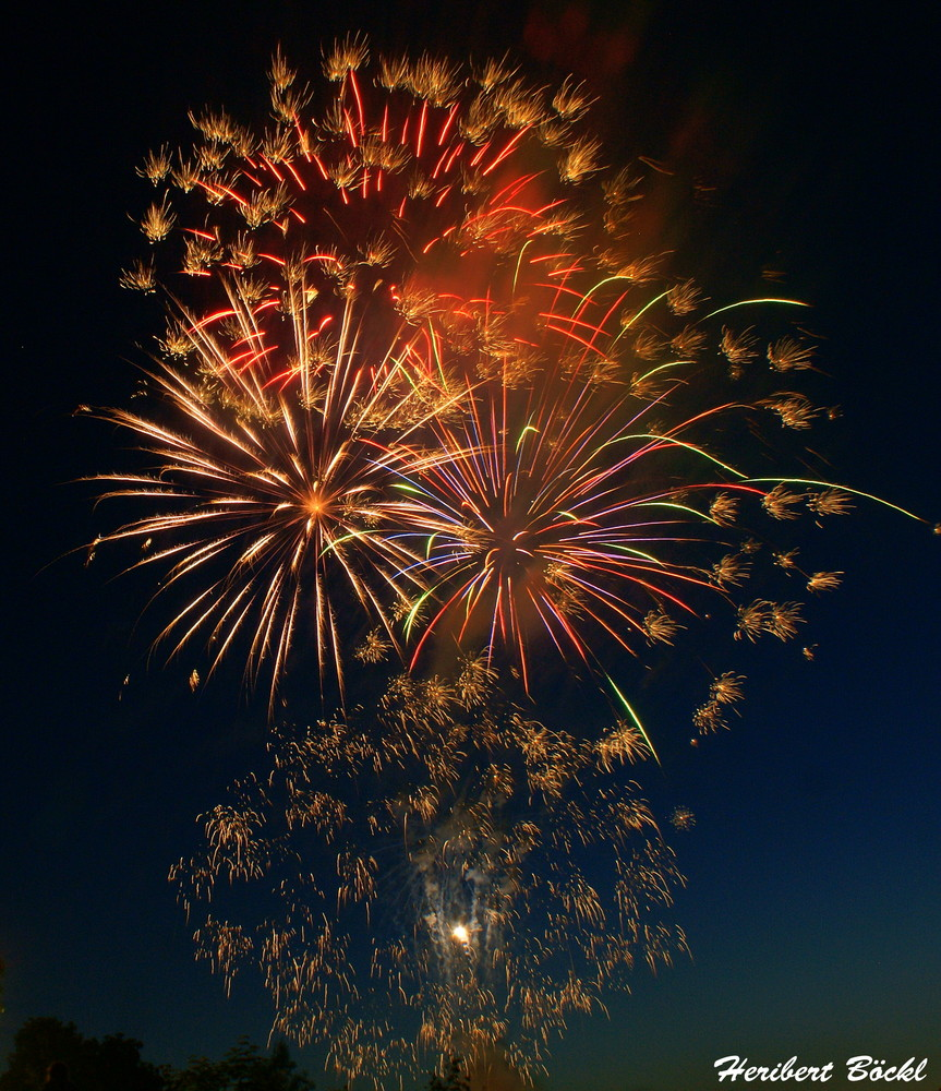 Dult Regensburg Feuerwerk