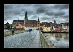 Regensburger Regenwolken... ;-)