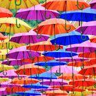 Regenschirm-Regen