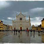 Regentage in Florenz