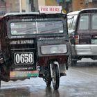 Regenwetter auf den Philippinen