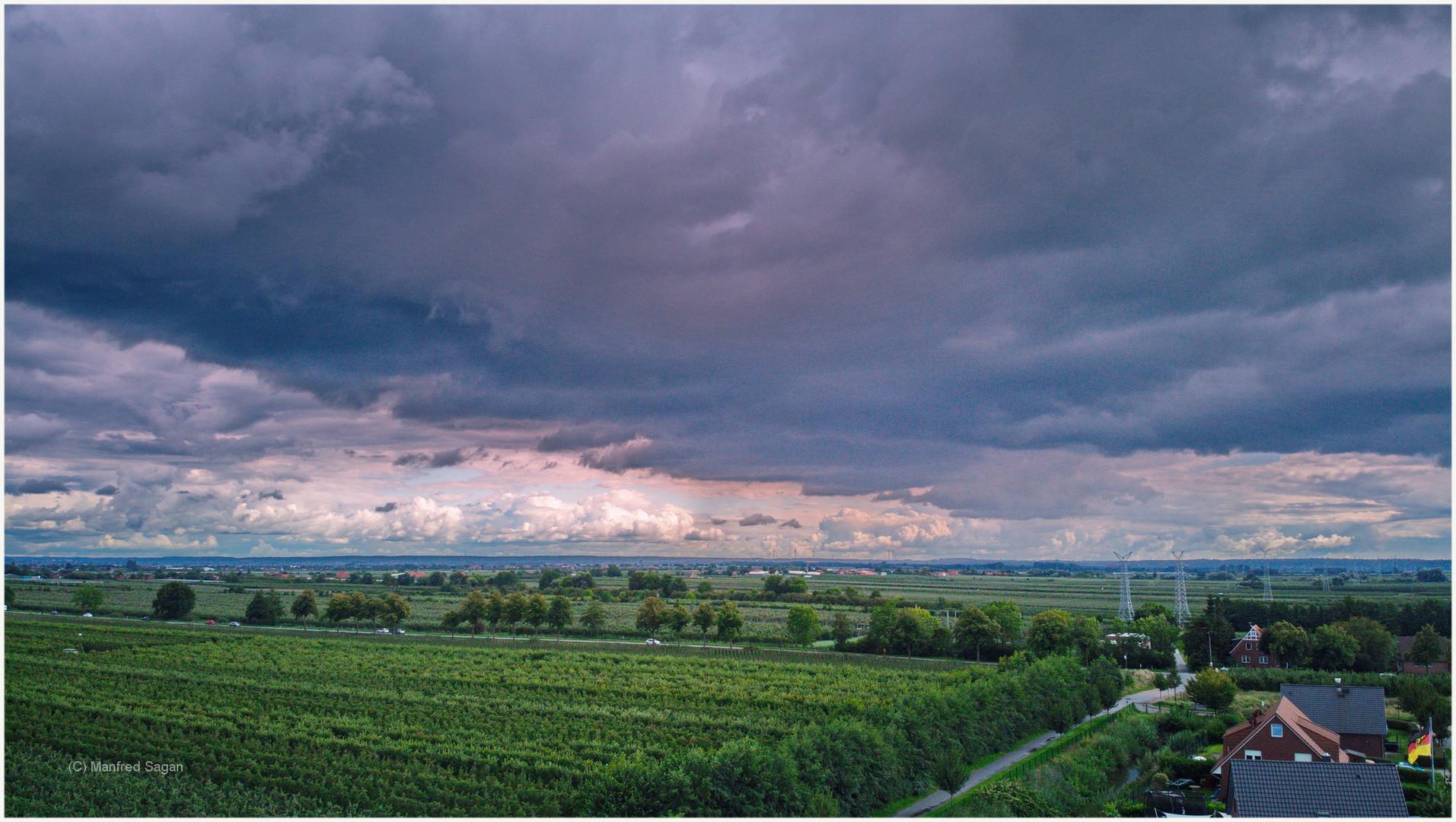 Regenwetter im Alten Land...