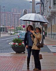 Regenwetter in Bilbao Nr. 1