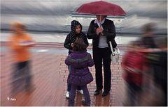 Regenwetter in Bilbao Nr. 3