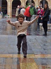 Regenwetter in Bilbao Nr. 4