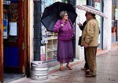 Regenwetter in Bilbao Nr.2