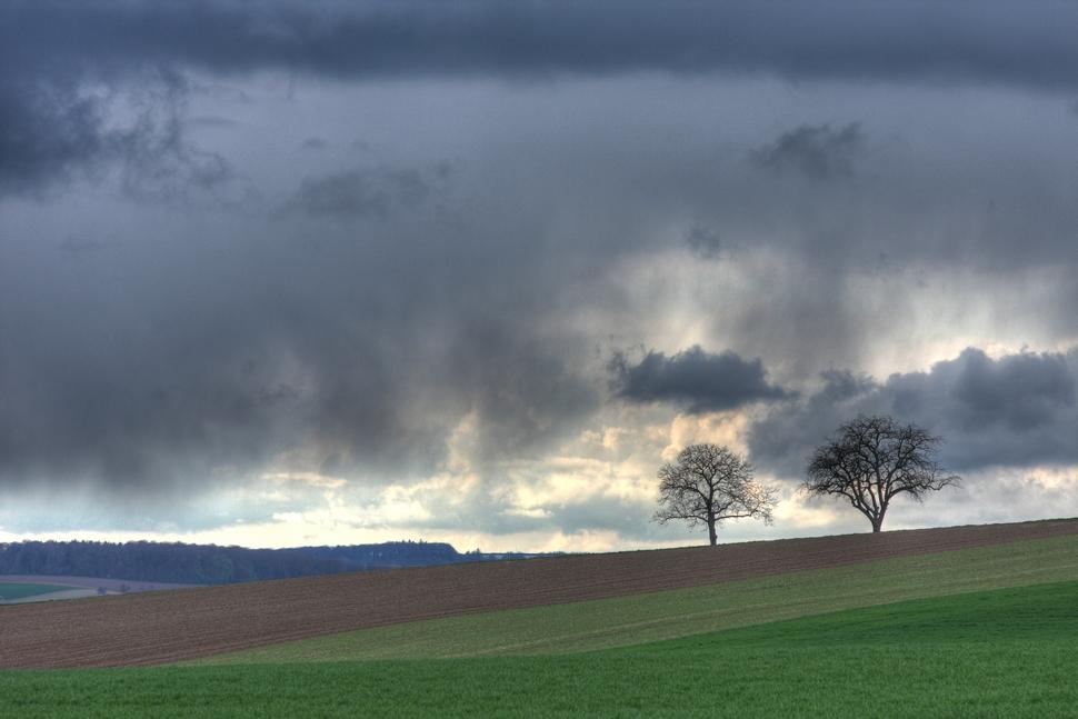Regenwolken im Anmarsch