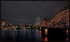 """"""" Regenwolken über Köln """""""