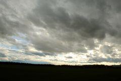 Regenwolken über Thüringen