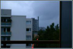 Regenwolkenstimmung