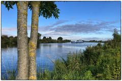Reger Verkehr auf der Weser