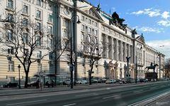 Regierungsgebäude - ehemaliges Kriegsministerium; Wien
