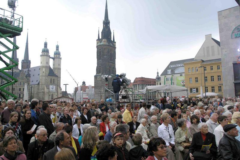 Regionaler Kirchentag 2006 in Halle/S