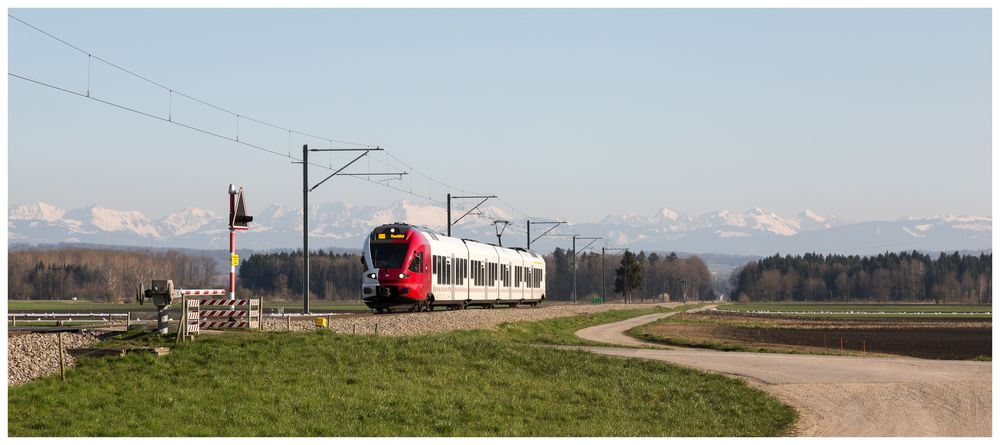 Regionalzug aus Freiburg