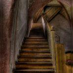 Regiswindiskirche Lauffen a. N. - Treppe am Nordeingangsbereich