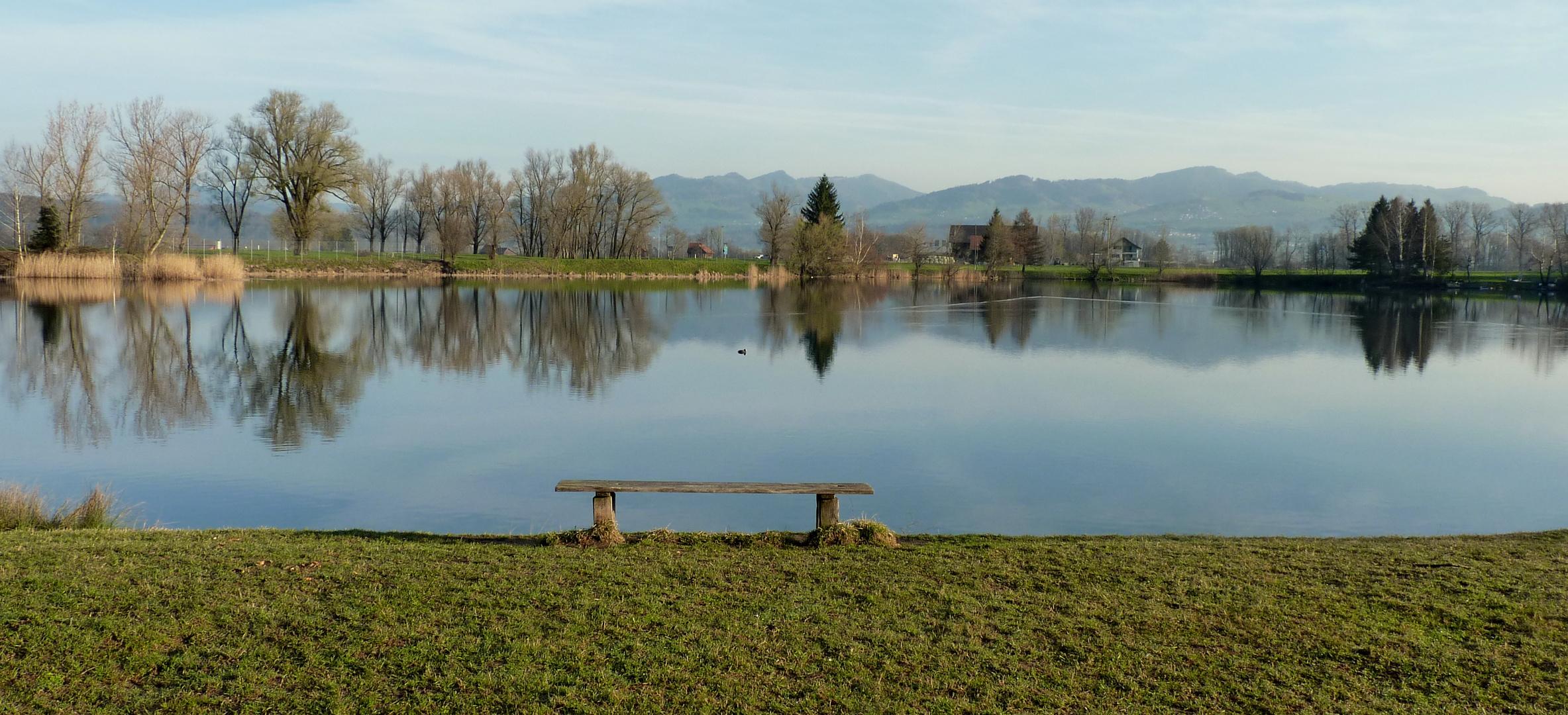 Reichenburg = Der Teich / L'etang / El estanque...06