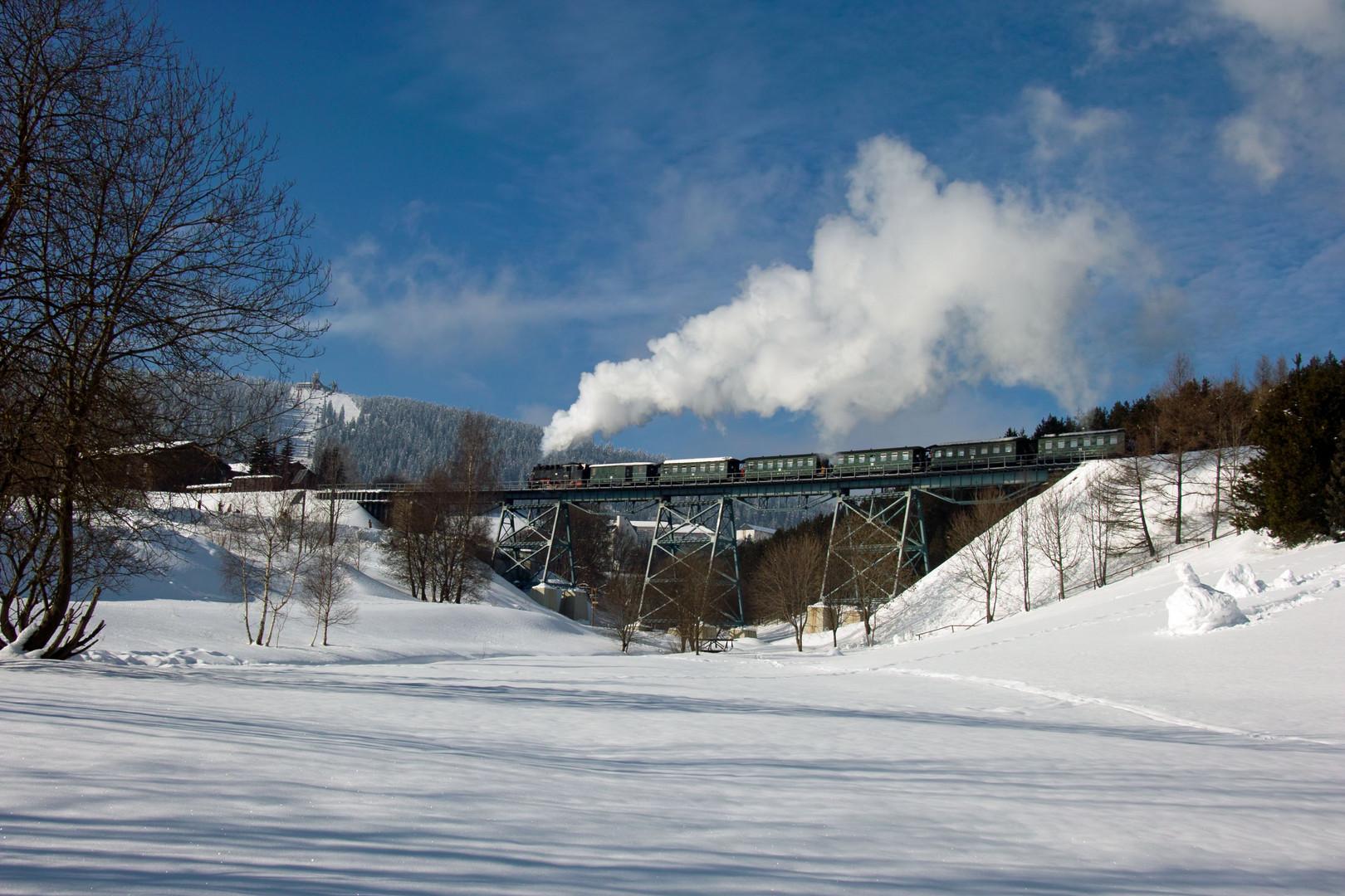 Reichsbahndampf am Fichtelberg