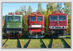 Reichsbahngesichter im TEV- Weimar