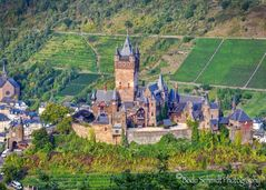 Reichsburg Cochem mit Blick von Südwesten