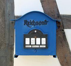 Reichspost Briefkasten