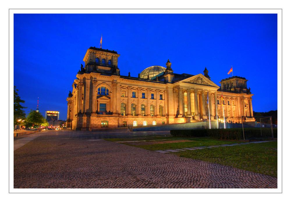 Reichstag bei Nacht - reloaded