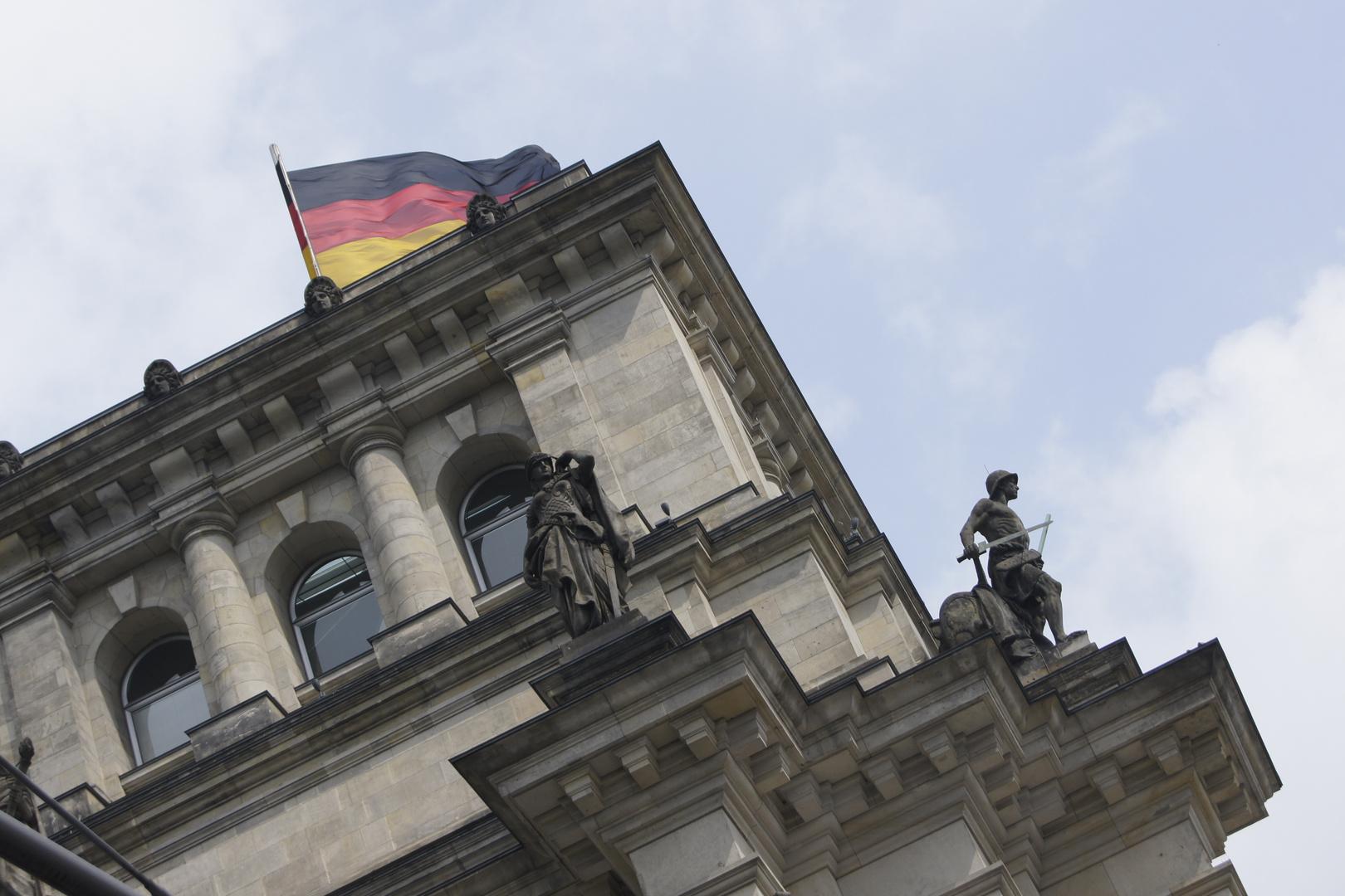 Reichstag Berlin , etwas andere Sicht