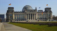 Reichstag Berlin Mitte 26.3.2020