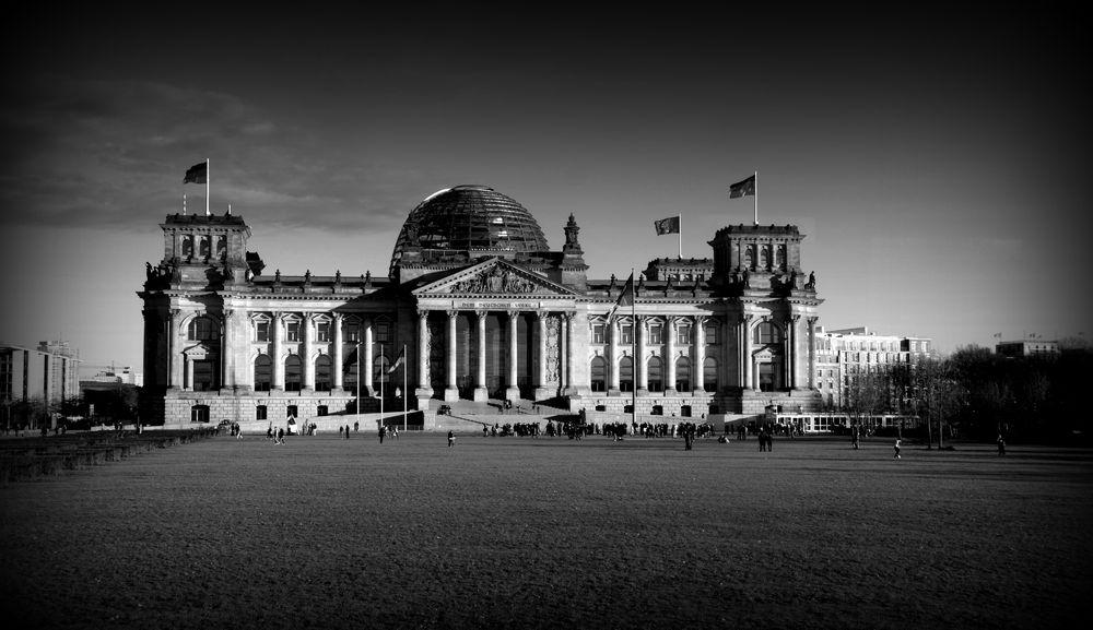 Reichstag in Berlin 2014