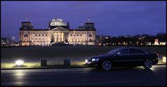 Reichstag mit Audi S8