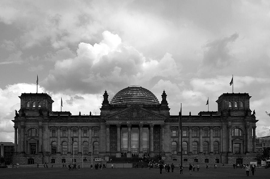 Reichstag s/w