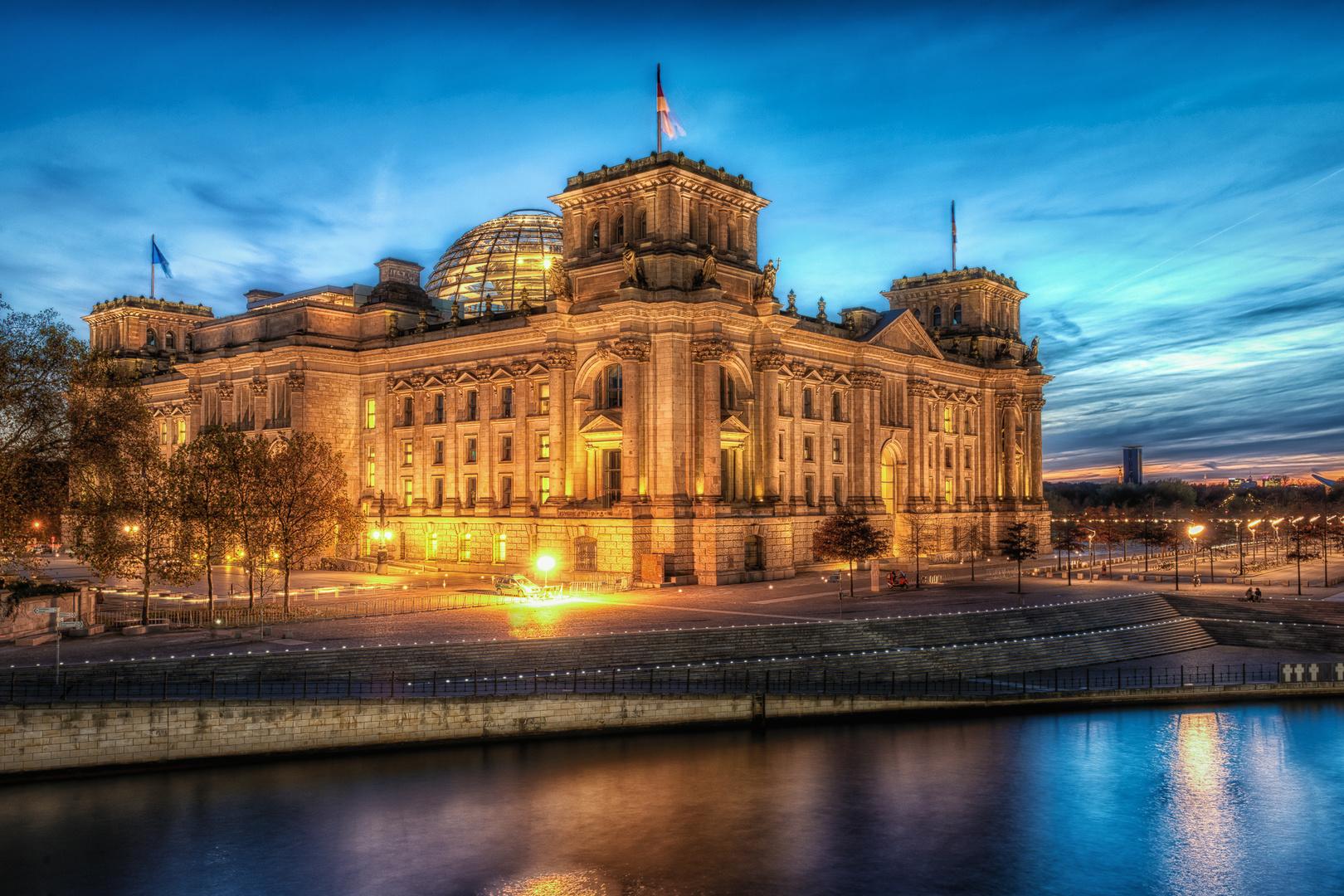 Reichstag von Hinten