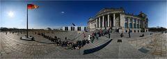 Reichstags-Schlange (Panorama)
