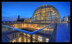 Reichstagsgeländer...
