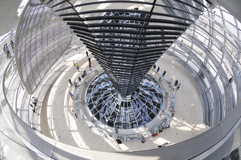 Reichstagskuppel Foto & Bild | architektur, profanbauten ...  Reichstagskuppe...