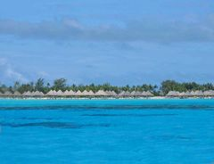 Reihenhaussiedlung mal anders - Bora Bora
