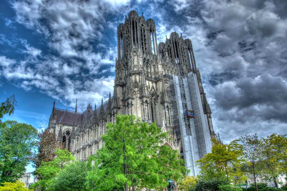 Reims Kathedrale HDR