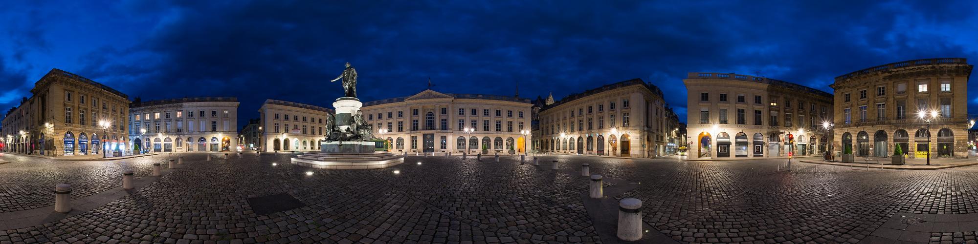 Reims Place Royal Panorama