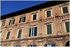 Reinassance facade in Pesaro