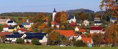 Reinhardsgrimma im Osterzgebirge mit einer berühmten Kirche...