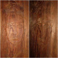 """Reinhold Langner 1905-1957 """"Double face"""""""