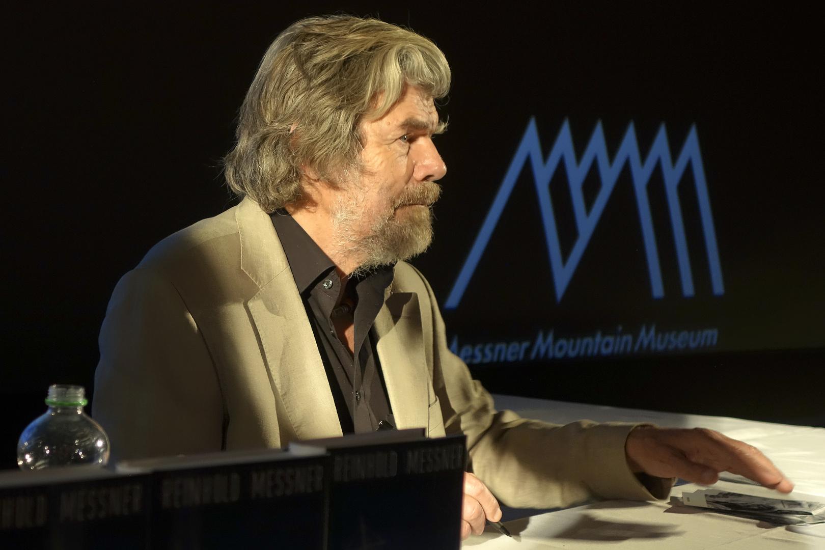 Reinhold Messner in Dresden