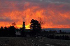 Reinsdorf in Flammen